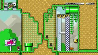 So indecisive! (Puzzle) by winfield - Super Mario Maker - No Commentary
