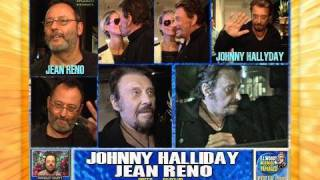 JOHNNY HALLYDAY & JEAN RENO DINE OUT IN LA