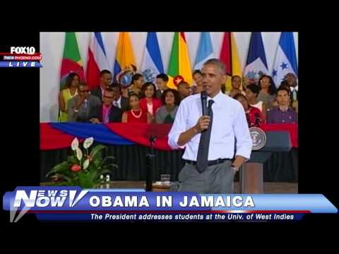 FNN: Obama Speaks to Students at the University of the West Indies in Kingston, Jamaica