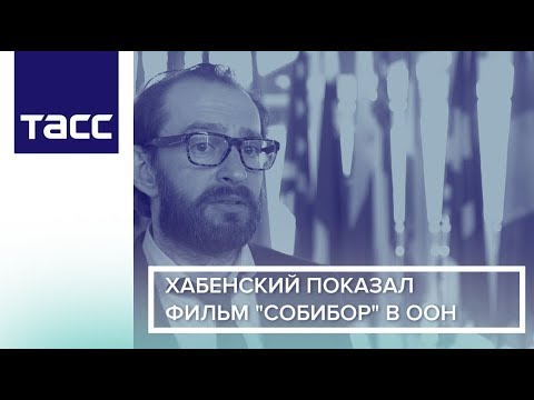 """Хабенский показал фильм """"Собибор"""" в ООН"""