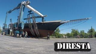 ✔  DiResta 36 Very Old Wooden Boat