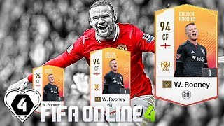 FIFA ONLINE 4: TEST NHẸ DÀN GR VS Wayne Rooney GR GOLDEN ROOKIES - ShopTayCam.com