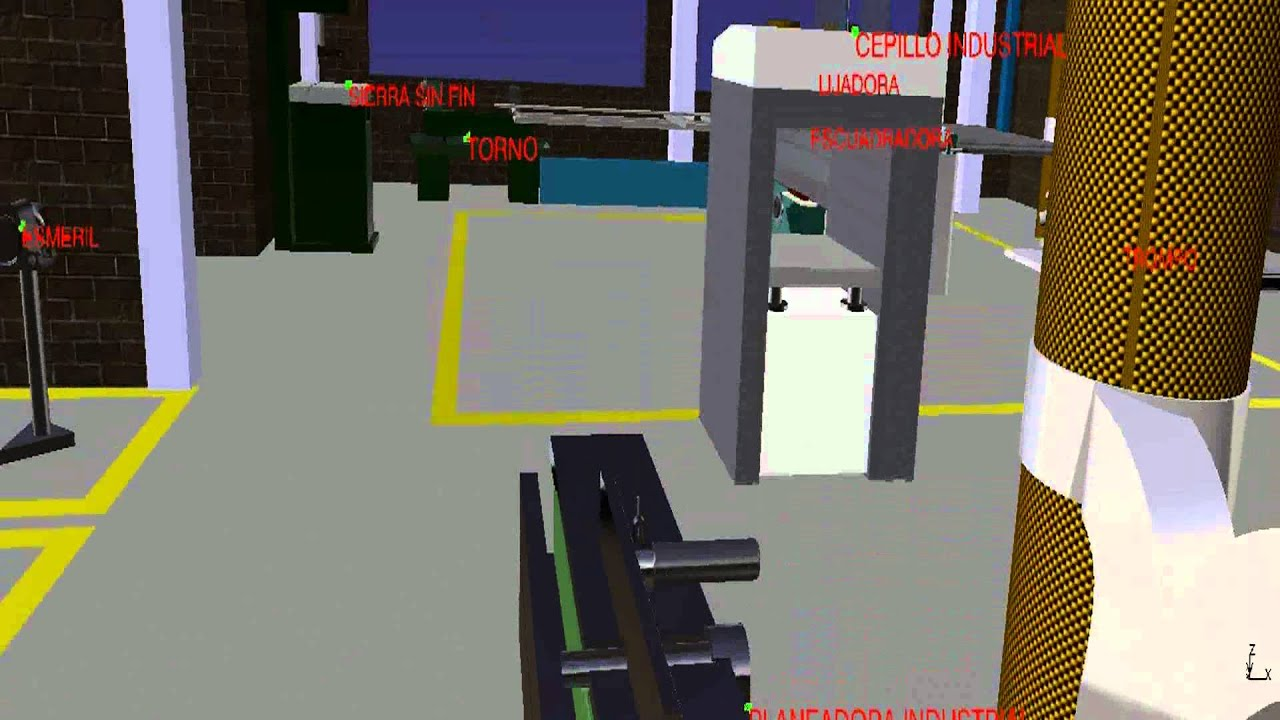 Modelado taller de ebanisteria sena centro industrial de for Taller de ebanisteria