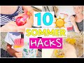 10 SUMMER LIFE HACKS | Limonade to Go | DIY Magic Sand | Isab...
