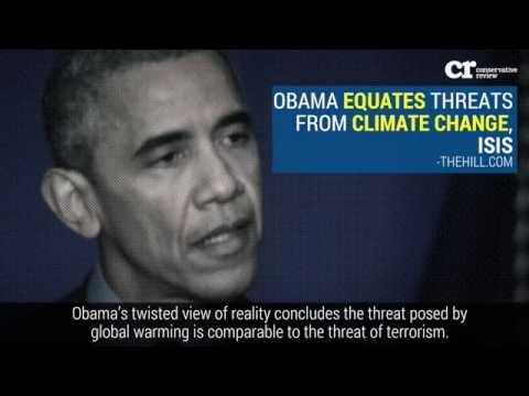 Obama Administration's Insanely Delusional Global Warming Saga
