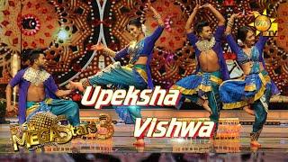 Upeksha Swarnamali with Wishwa  Mega Stars 3 | FINAL 09 | 2021-08-15
