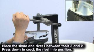 NM-11: Riveting machine for skates.wmv