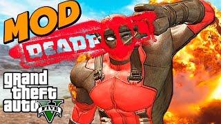 GTA 5 Моды: DEADPOOL - БЕЗУМНЫЙ МОД