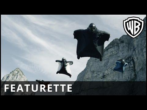 Point Break - Wingsuit Featurette - Official Warner Bros. UK