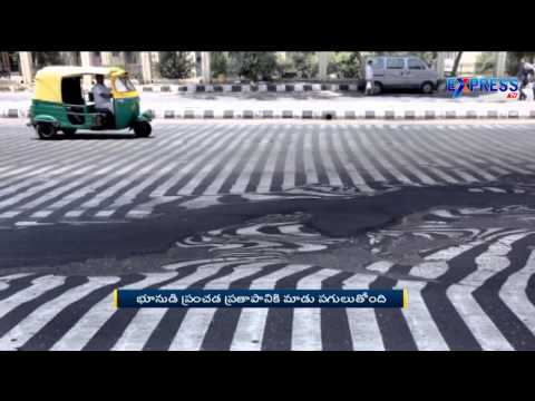 Delhi Records Highest Temperature Of The Summer Season | Express TV