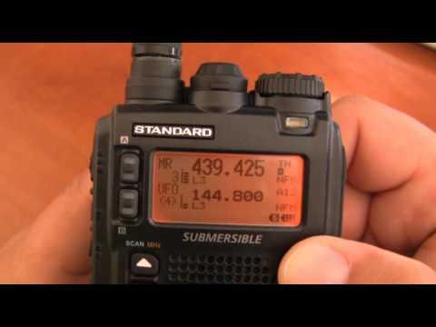 YAESU VX-8 APRS GPS PMR Review