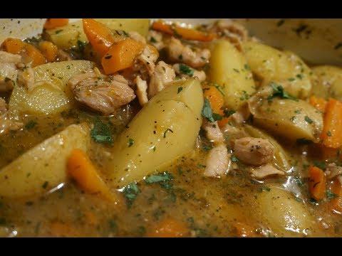 Late Nights | One Pot Chicken Stew | Light ASMR