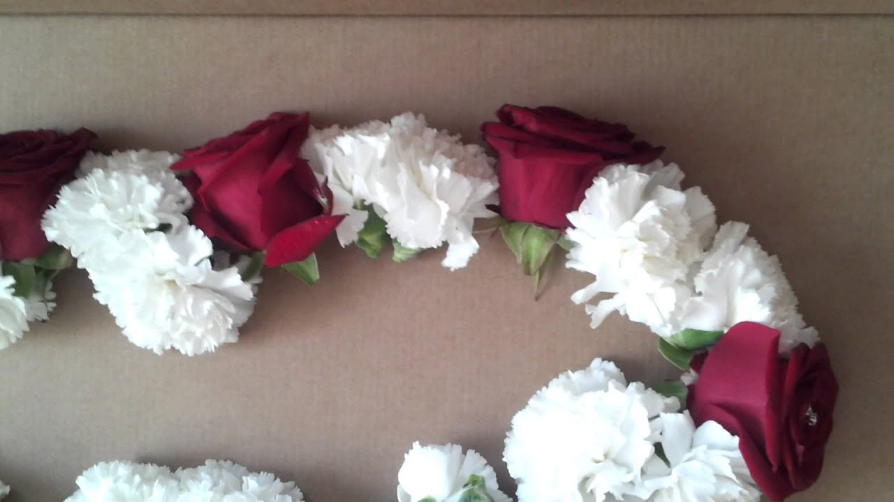 Fresh Rose Garland By Ever So Special YouTube