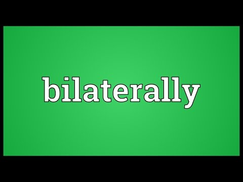Header of bilaterally