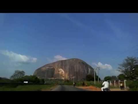 zuma rock, Abuja to Kaduna Road Nigeria