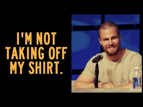 The Best of Stephen Amell. Part 4 (HUMOR)
