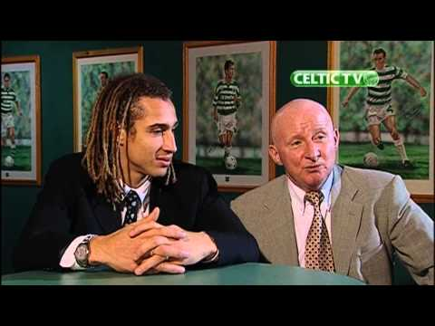 Celtic FC - 1999.12.05 Henrik Larsson and Jimmy Johnstone interview