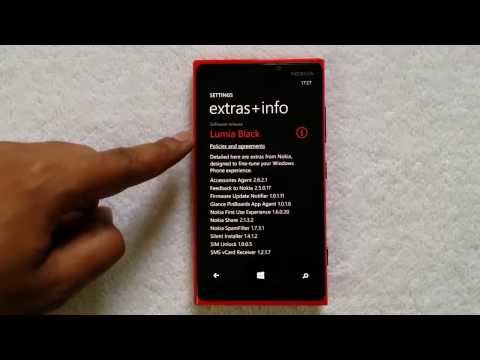 How to Install Nokia Black Update on Lumia Windows Phone 8