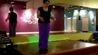 Zumba Step Instruction-SAMBA