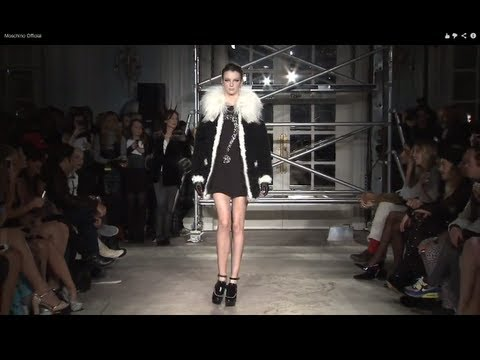 """Moschino Cheap and Chic"" Autumn Winter 2013 2014 London Fashion Week by Fashion Channel"
