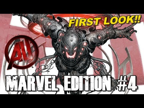 First look at Ultron, Scarlet Witch and Quicksilver in Avengers AOU - [MARVEL EDITION #4]
