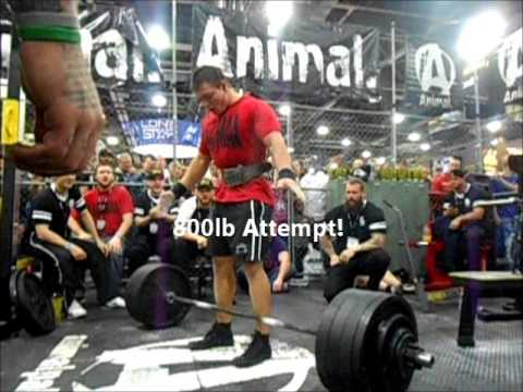 Jesse Norris World Record RAW Deadlift In