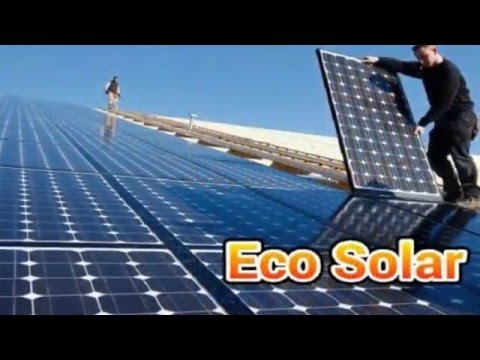 ECO SOLAR NO PAGUE MAS ELECTRICIDAD Jose N Solis Gerente General