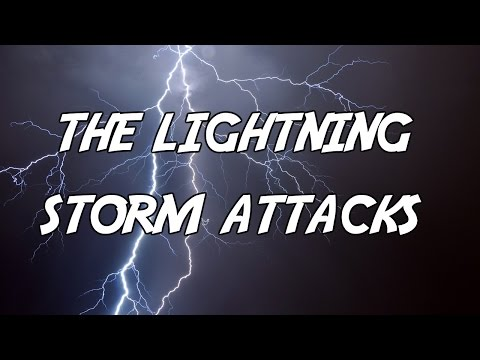 Crazy Lightning Storm Crashes In video
