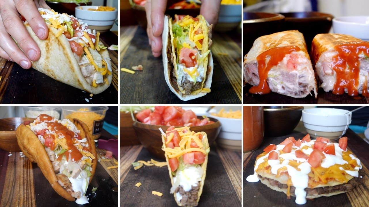 Two Guys Show You How To Make Taco Bell's Entire Menu From Home