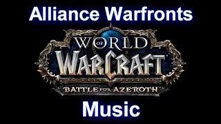 Alliance Warfronts Music - Warcraft Battle for Azeroth Music