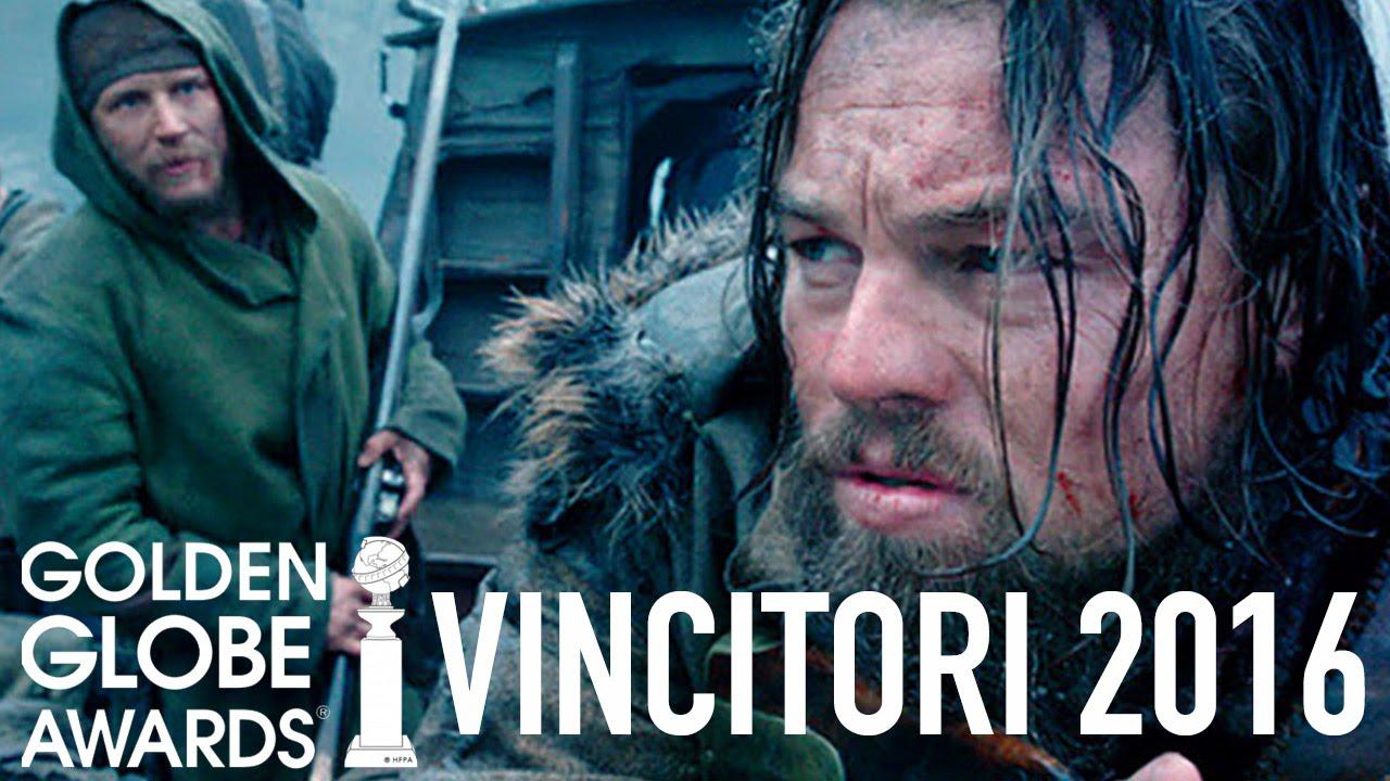 Golden Globes 2016 - Vincitori - Leonardo DiCaprio, Jennifer Lawrence [HD]