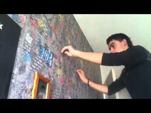 Accrocher un skate au mur style de vie et d coration - Accrocher photos au mur ...