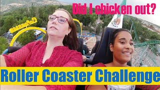 Kids Make Mom Ride All The Terrifying Roller Coasters Big Family Vlogs