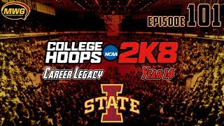 MWG -- College Hoops 2K8 -- Career Legacy, Episode 101