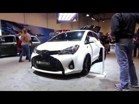 DUB Edition Toyota Yaris and Sienna Premiere at SEMA 2014!