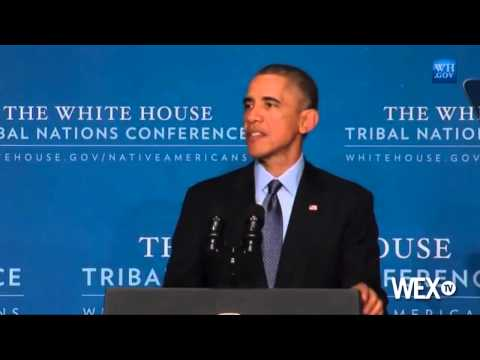 Obama focuses on native youth at Tribal Conference