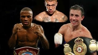 Golovkin vs Quillin vs Rosado \ Comparison \ Сравнение