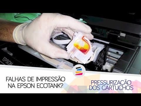 Falha de Impressão - L200 / L210 / L355 / L555 / L800 / L1300 - SULINK