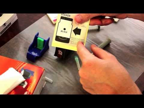 How to Refill Inkjet Ink Cartridges