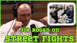 Joe Rogan on Striking vs BJJ In Street Fights (Striking vs grappling, MMA) with Eddie Bravo