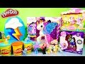 Play Doh Rainbow Dash Surprise Egg MLP Lalaloopsy Ponies My Little Pony Toys DCTC Videos