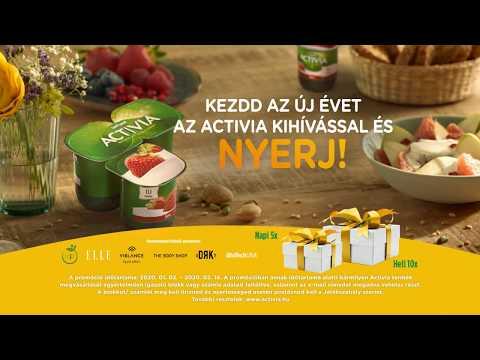 Kezdd az új évet az Activia kihívással és nyerj!