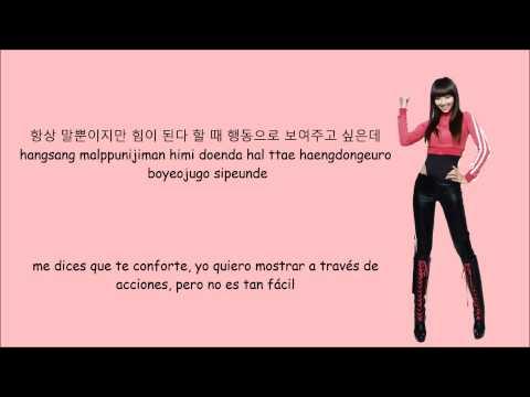 Hyolin (hyorin) - Massage (feat  Dok2)[sub Español+hangul+roma] video