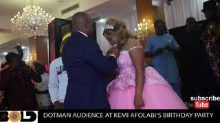 SEE HOW KEMI AFOLABI'S HUSBAND SHOWED HER LOVE DURING HER BIRTHDAY PARTY