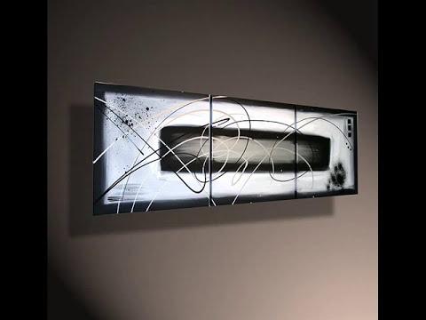 Tableaux abstrait de l'artiste peintre John Beckley