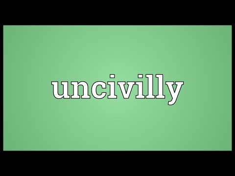 Header of uncivilly