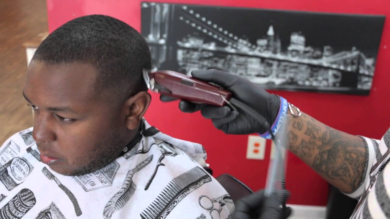 SMASH PHILLY FADE HOW TO: Do A Philly Fade - YouTube