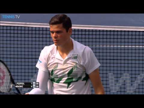 Washington 2014 Final Highlights Raonic Pospisil