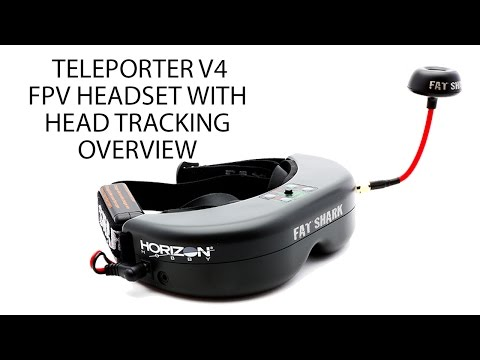 HorizonHobby.com Product Overview - Teleporter V4 FPV Headset with Head Tracking