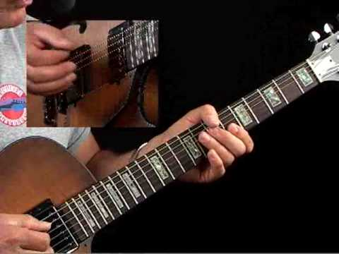 How to Play Guitar Like T-Bone Walker - Example 1a - Blues Guitar Lessons